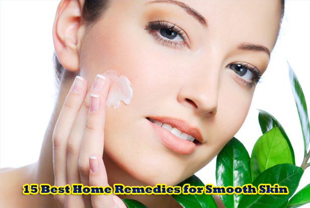 Home Remedies for Smooth Skin