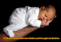 15 Home Remedies for Colds and Coughs in Babies