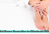 15 Useful Home Remedies to Eliminate Foot Odor