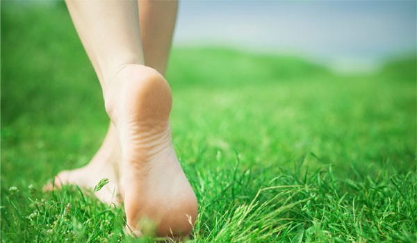 walking-on-grass